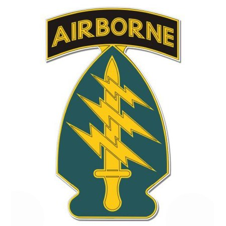 - U.S. Army Special Forces Airborne - Vinyl Sticker Waterproof Decal Sticker 5