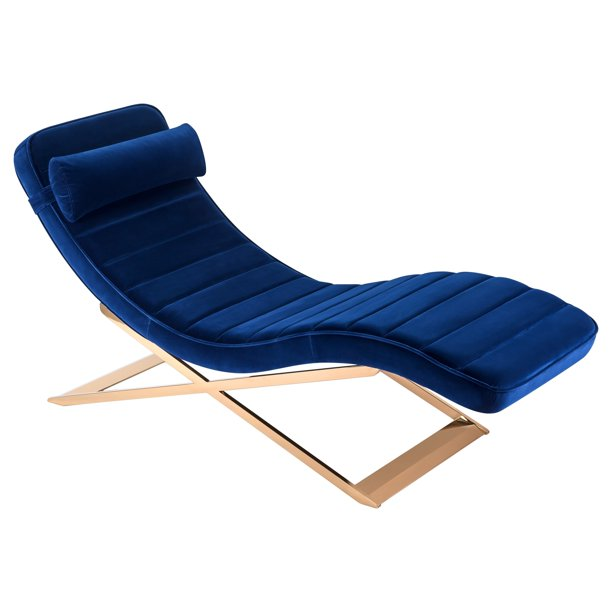 Safavieh Couture Mandalay Chaise Lounge - Walmart.com ... on Safavieh Chaise Lounge id=79134