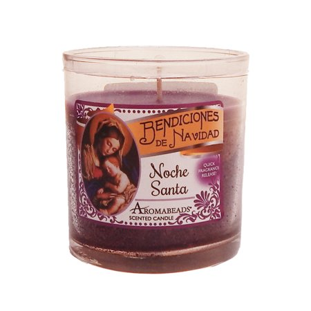 Hanna's Candles Jar Candle Tumbler 6 Oz Aromabeads Noche