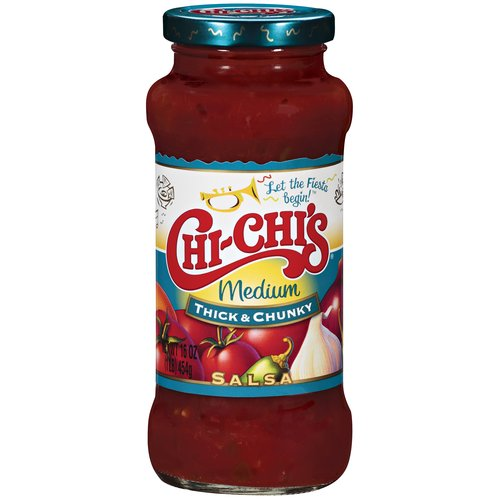 Chi-Chi's Medium Thick & Chunky Salsa 16 oz. Jar