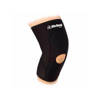 McDavid Classic Logo 404 CL Level 1 Knee Sleeve W/ Anterior Patch & Open Patella - Black - Large