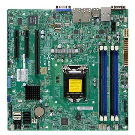 Supermicro X10SLL+-F ATX Server Motherboard LGA 1150 Intel C226 DDR3 1600 (MBD-X10SLL+-F-O)