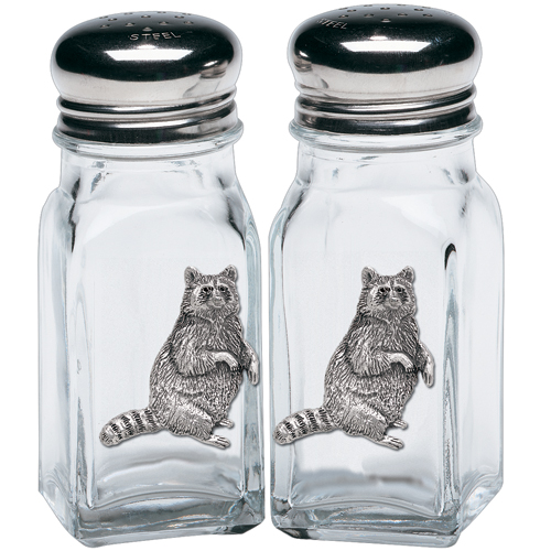 Raccoon Salt & Pepper Shakers