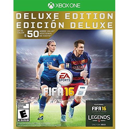 New  Fifa 16   Deluxe Edition   Xbox One Sealed