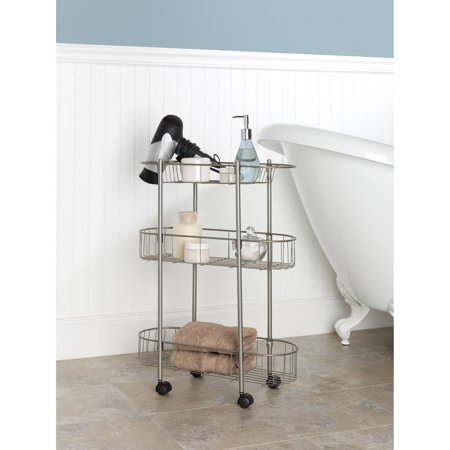 Chapter Rolling Bathroom Cart - Walmart.com