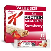 Kellogg's Special K, Protein Meal Bars, Strawberry, Value Pack, 19 Oz, 12 Ct