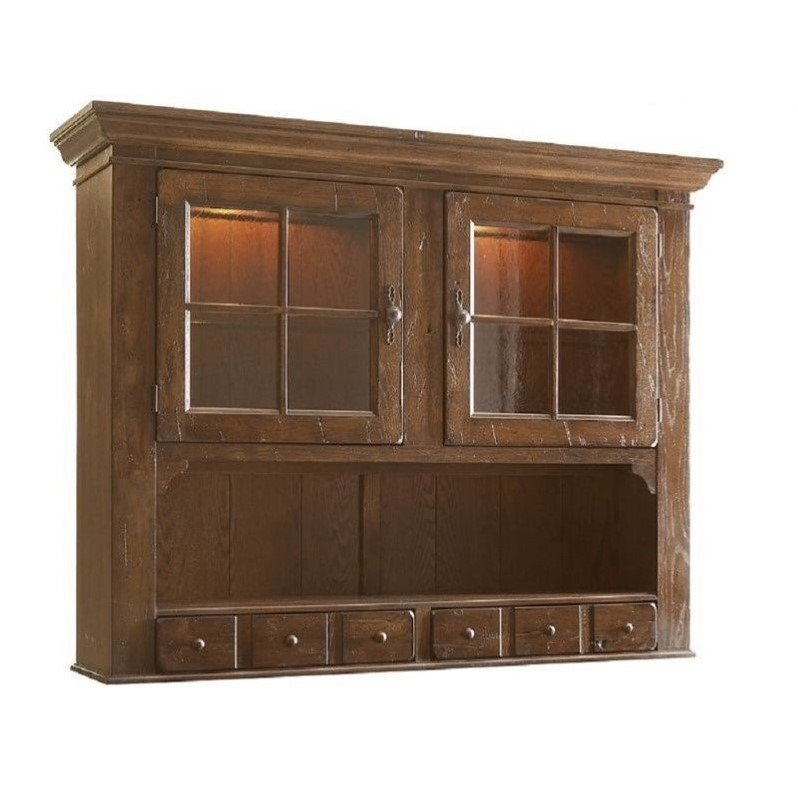Broyhill Attic Heirlooms China Hutch In Natural Oak
