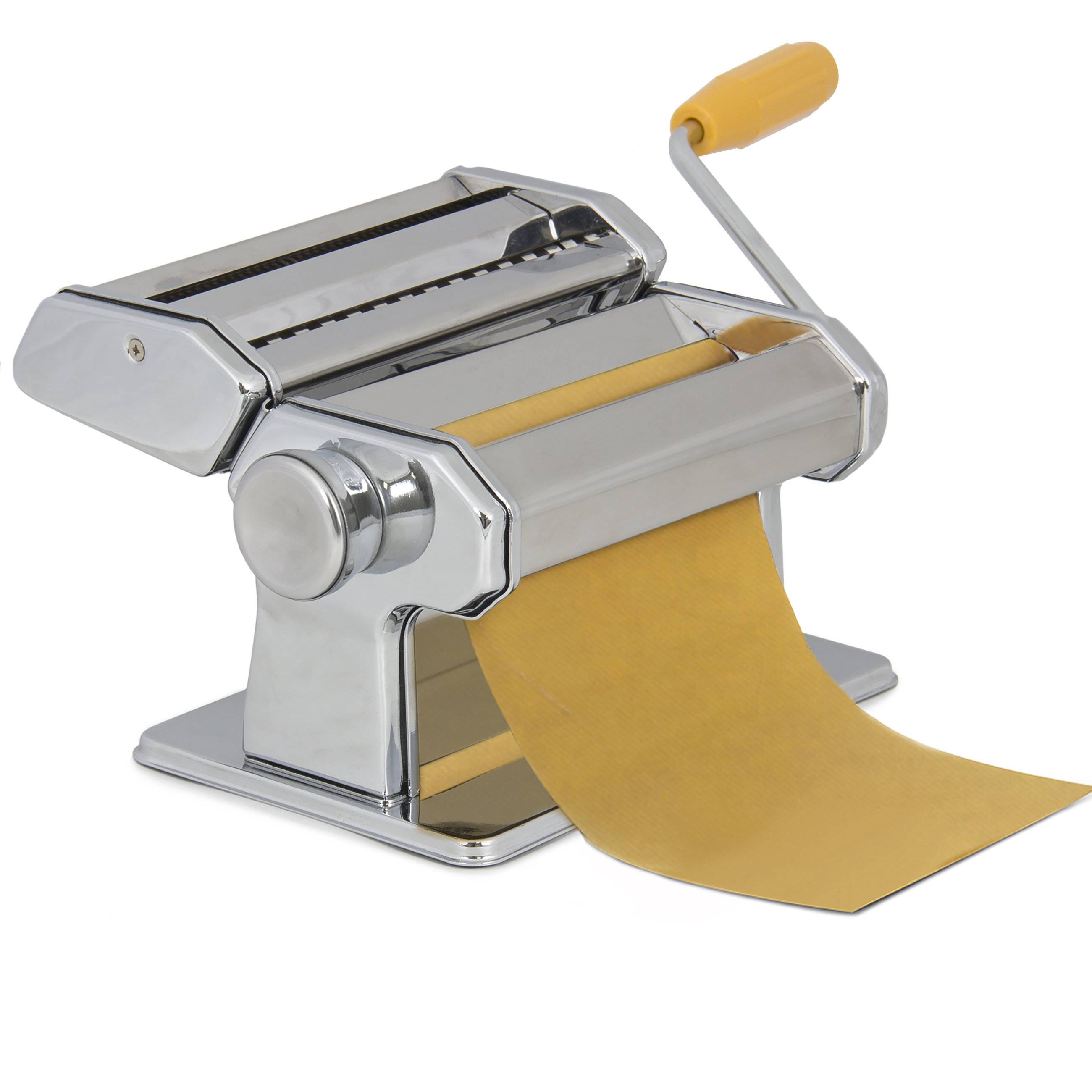 "Best Choice Products Pasta Maker Roller Machine 7"" Dough Making Fresh Noodle Maker Stainless Steel"