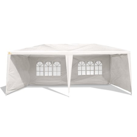 Palm Springs Outdoor 10 x 20 Wedding Party Tent Gazebo Canopy with 4 Sidewalls