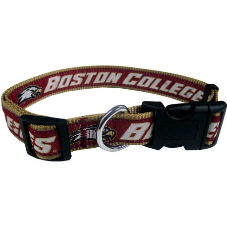 Pets First College Boston College Eagles Pet Collar, 3 Sizes Available, Sports Fan Dog -