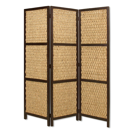 Screen Gems 72'' x 60'' Braided Rope 3 Panel Room Divider