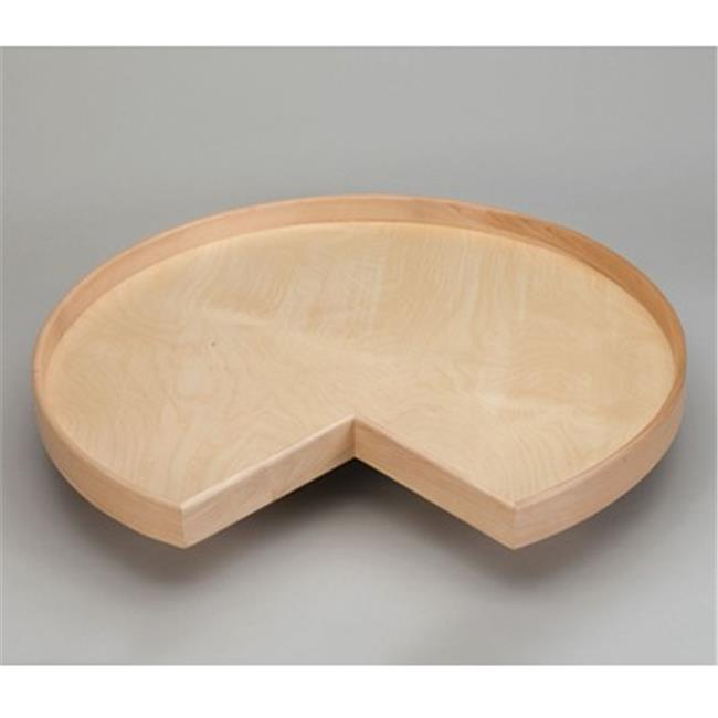 Rev A Shelf Rsld.4Nw.401.28Bs.1 28 In. Solid Maple Band Kidney Natural Wood Bearing