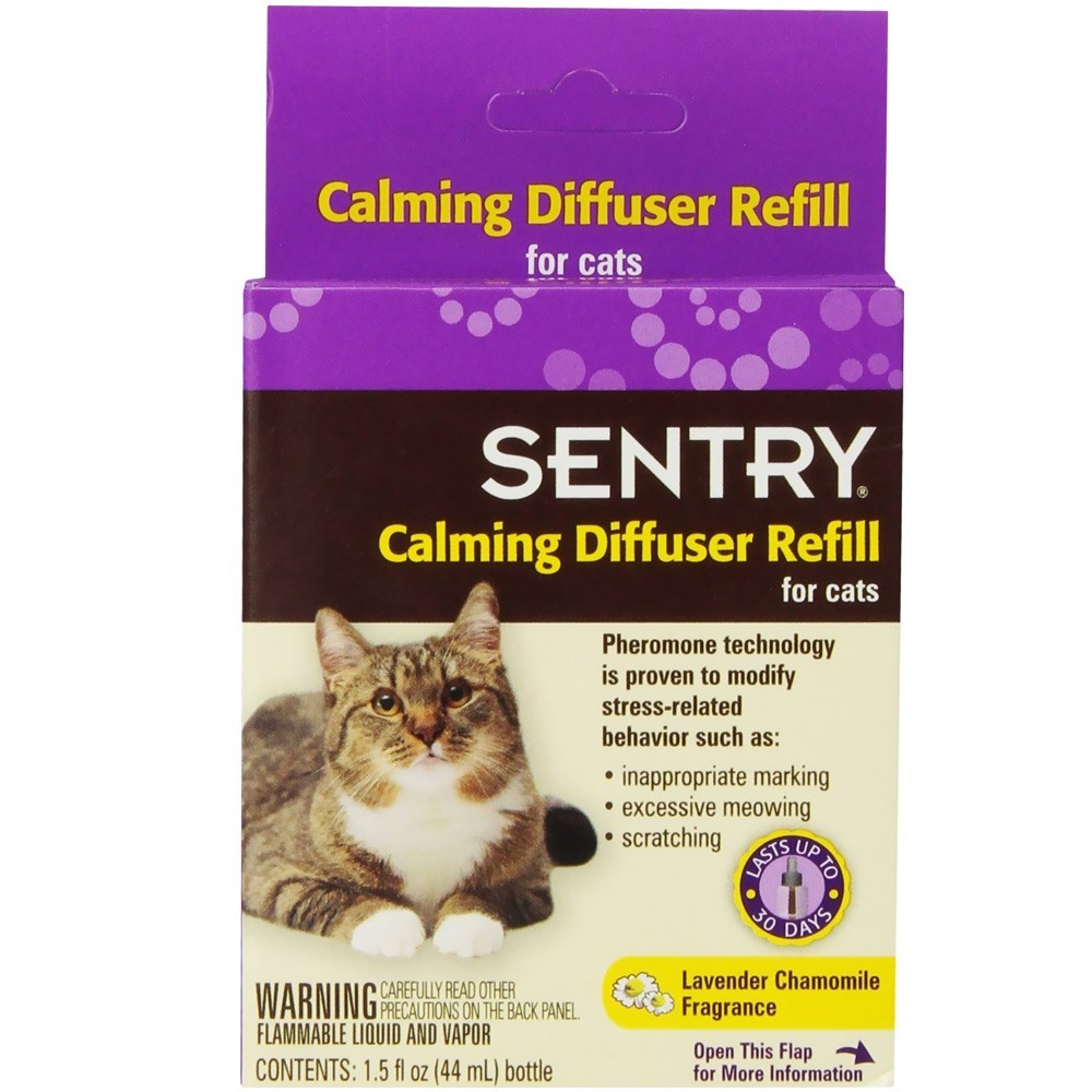 Sentry Calming Diffuser Refill for Cats 1.5 Oz.