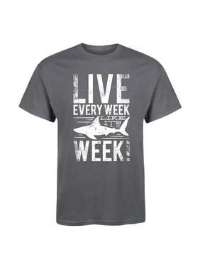 bd86582bfa5d Product Image Live Every Week Like (Shark) Week-ADULT SHORT SLEEVE TEE