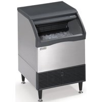 Scotsman Air Cool 250 LB. Prod. 115-V Prodigy Ice Cuber w  110 LB. Bin Medium Cube