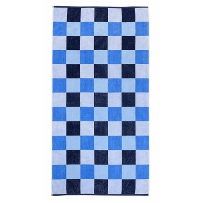 Simple Luxury Superior Cool Check Beach Towel