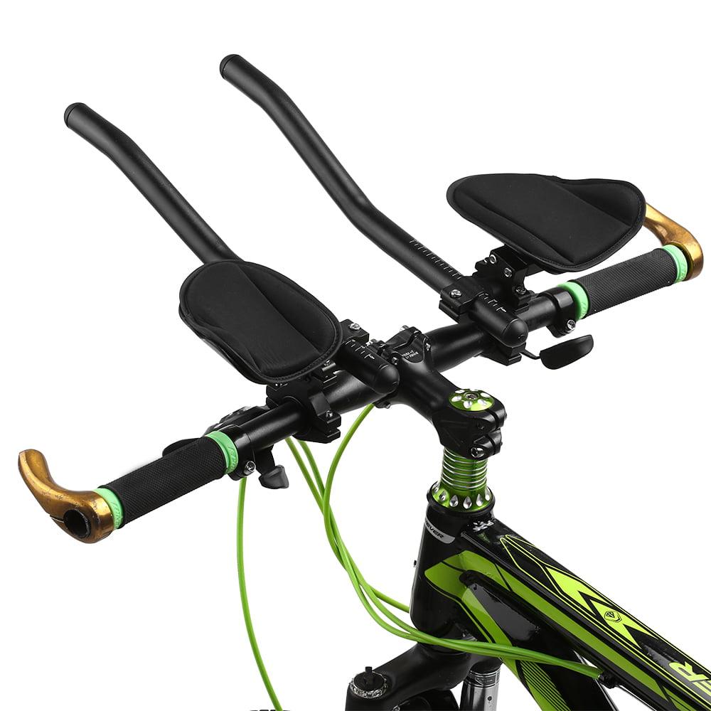 Lightweight Bike Aero Handlebars Road Bike Arm Rest Bars Components Accessories