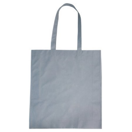 Reusable Multipurpose Tote Bags, Non-Woven, Pack of 50 (Gray)
