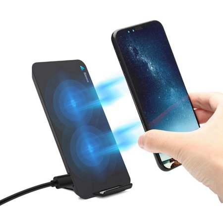 Qi Wireless Charger for Apple iPhone X 8 8 Plus Samsung S8 S9 S9 Plus S7 Edge S7 S6 Edge Note 8 Fast Wireless Charger Docking Dock (Best Cheap Qi Charger)