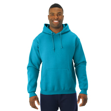 Jerzees Mens NuBlend Pull Over Hooded Sweatshirt, JZ996MR, - Jerzees Long Sleeve Sweatshirt
