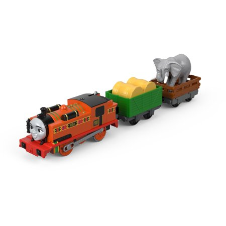 Nib Train (Thomas & Friends TrackMaster Motorized Nia & The Elephant Train Engine )