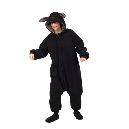 Black Sheep Costumes (Wooly Black Sheep Adult)