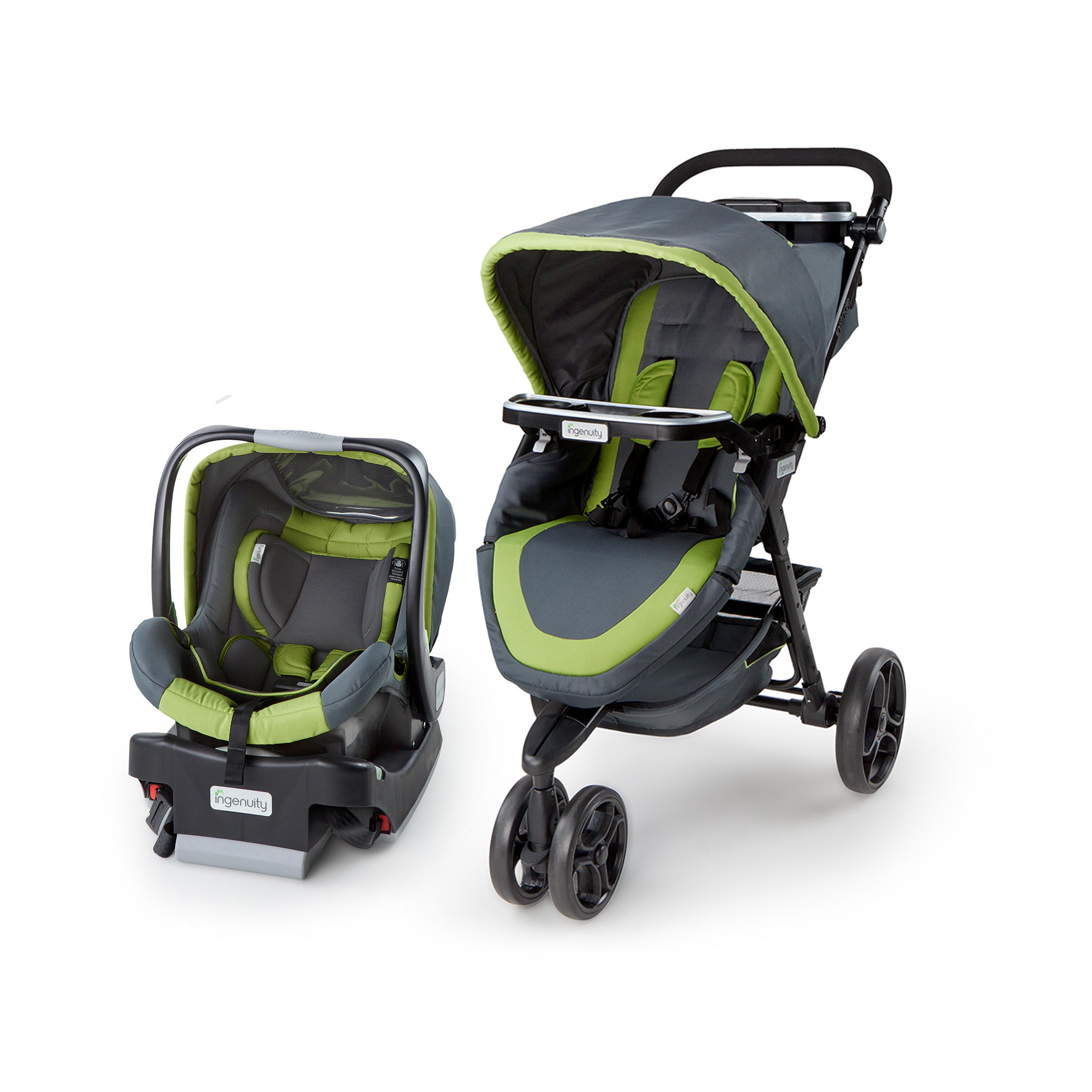 Ingenuity InStride Easy Up Travel System - Bristol