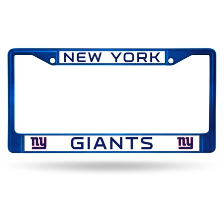 Rico Industries NFL Color License Plate Frame, New York Giants