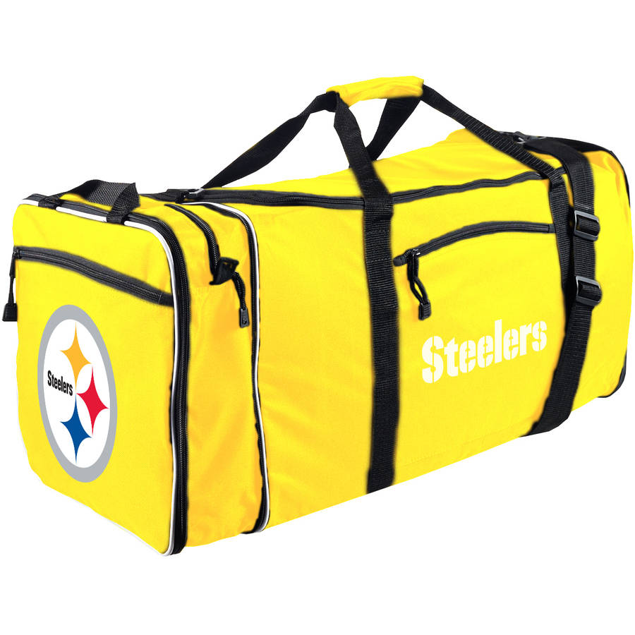 "NFL Pittsburgh Steelers ""Steal"" Duffel Bag"