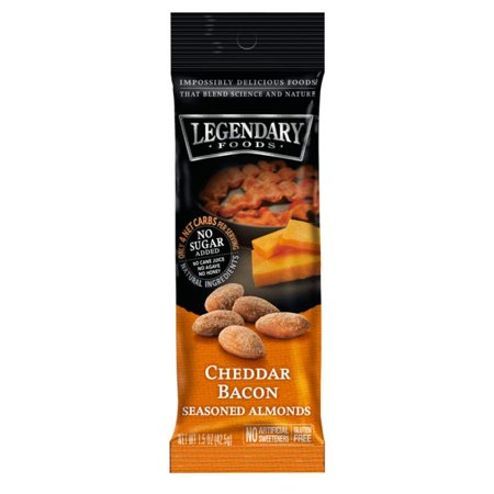 Legendary Foods Nut Snacks Seasoned Almonds - Cheddar Bacon (Halloween Snack Food Ideas)