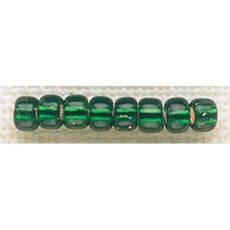Mill Hill Glass Beads Size 6/0 4mm 5.2g-Brilliant Green - Green Beads