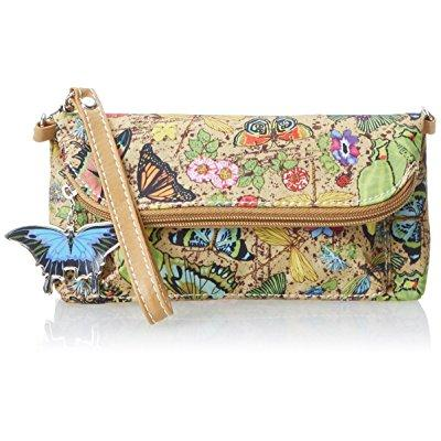 Sydney Love Botanical Cross Body Wristlet