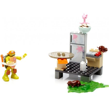 Mega Construx Teenage Mutant Ninja Turtles Mikey S Kitchen Chaos