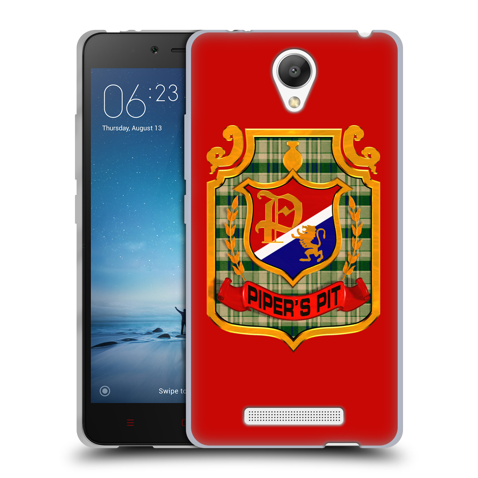 OFFICIAL WWE ROWDY RODDY PIPER SOFT GEL CASE FOR XIAOMI PHONES