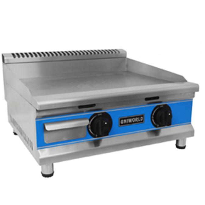 "Uniworld 24"" Stainless Steel Natural Gas Griddle Kitchen ..."