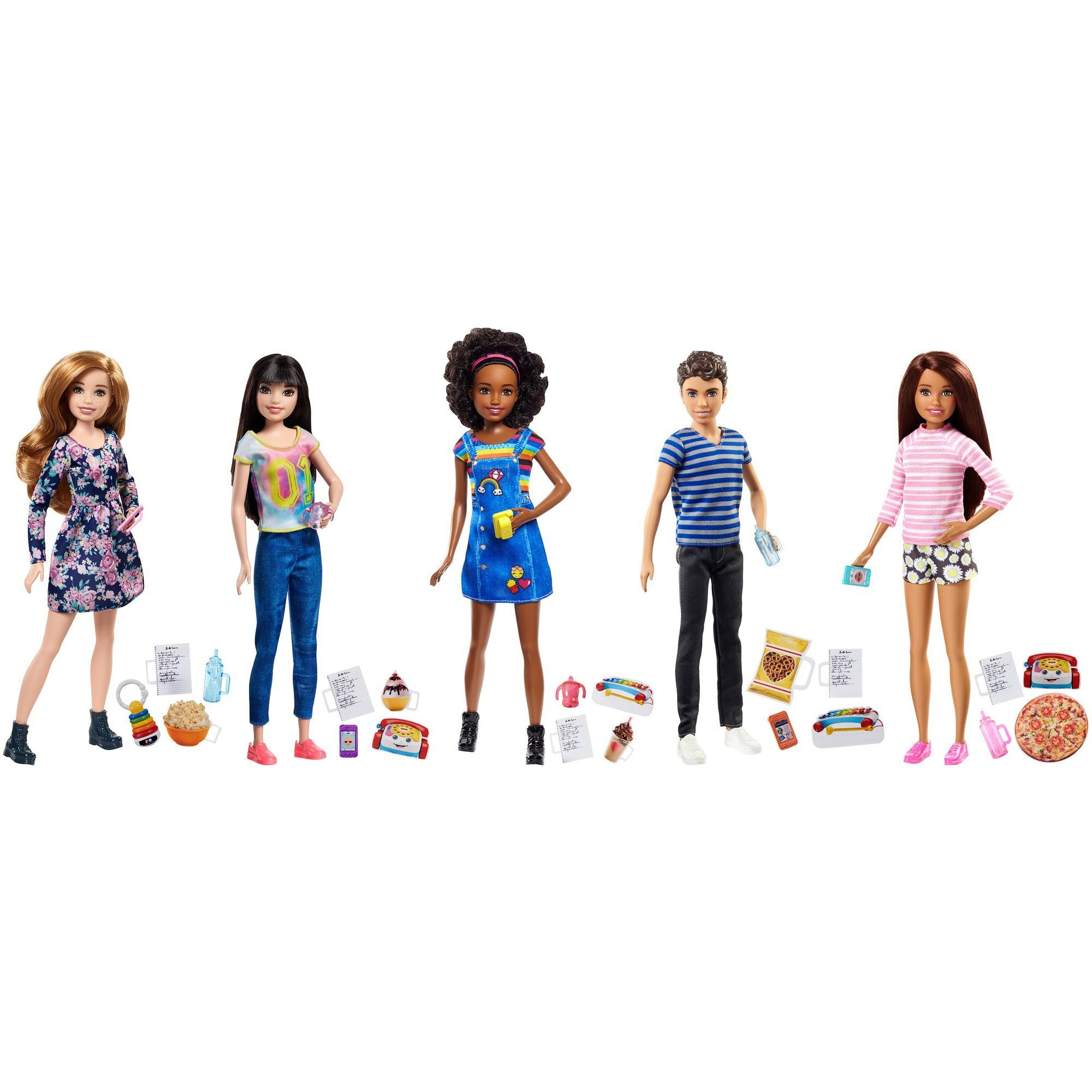 Barbie Skipper Babysitters Inc. Doll And Accessory (Styles May Vary)