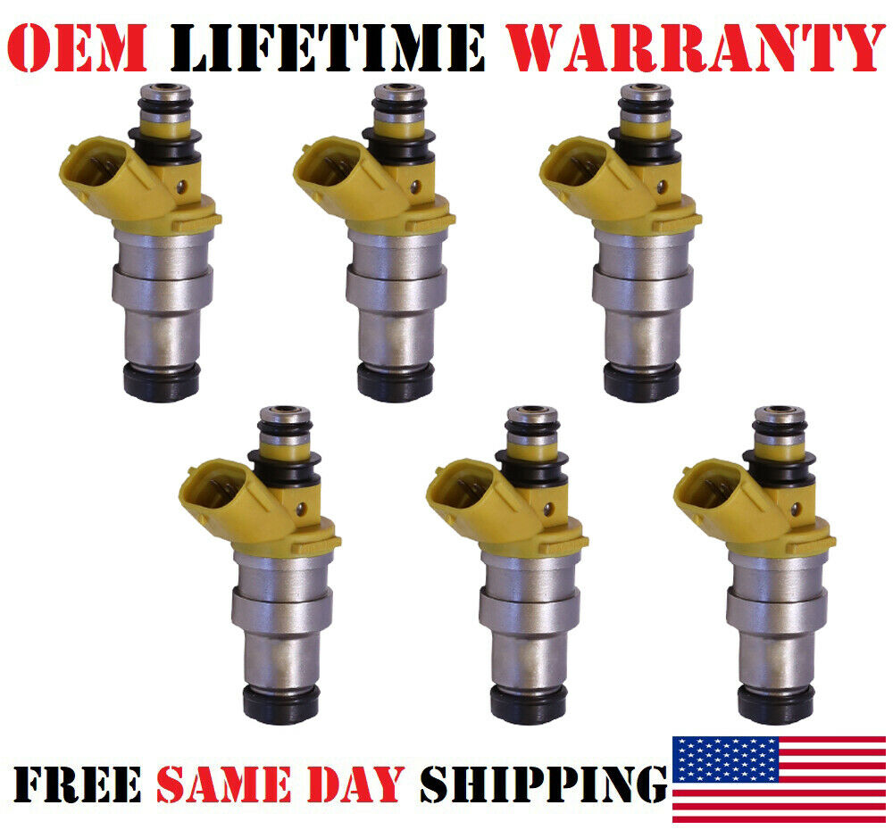 Lifetime Warranty Single OEM Fuel Injector 23250-70040