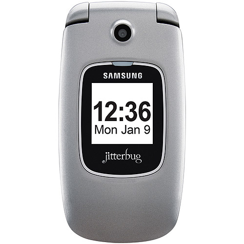 GreatCall Jitterbug Plus Senior Cell Phone with 1-Touch Operator Access (Silver)