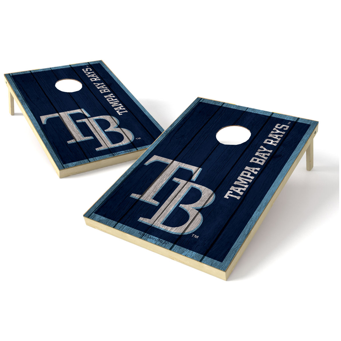 2X3 Shield Game MLB Big Vintage Tampa Bay Rays