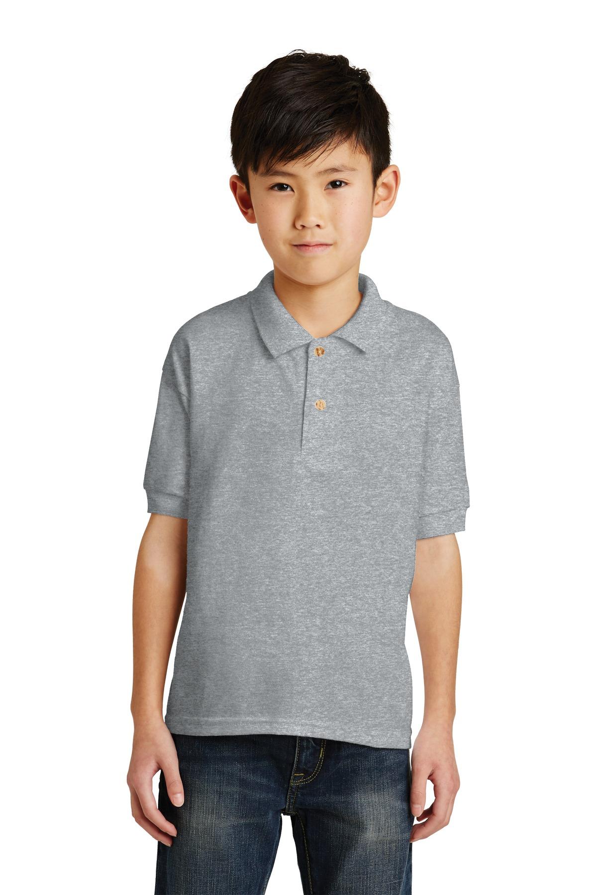 Gildan Youth DryBlend 6-Ounce Jersey Knit Sport Shirt