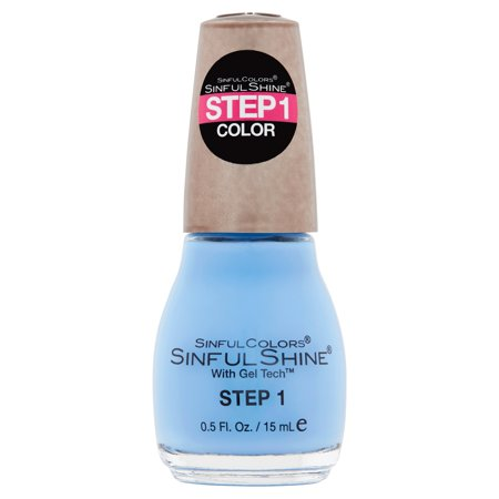 SinfulColors SinfulShine Step 1 Color Nail Color, Alfresco, 0.5 fl - Halloween Nail Art Step By Step