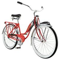 Schwinn Phantom Cruiser Bike, single speed, 26-inch wheels, red, women's vintage style