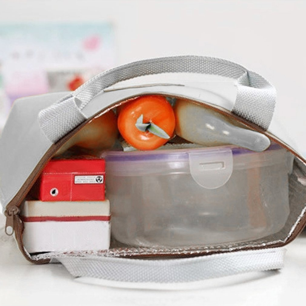 Portable Thermal Insulated Cooler Lunch Box Travel Picnic Carry Tote Bag