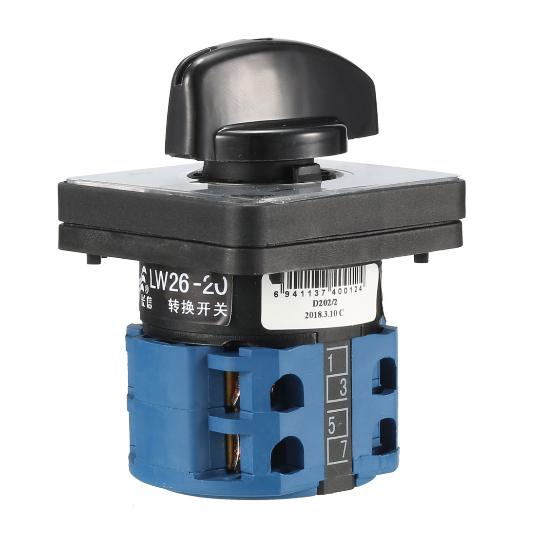 Cam Changeover Switch 3 Positions Rotary Selector Switch 12 Terminals LW26-20 - image 1 of 4