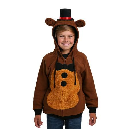 Five Nights at Freddys Costume Hoodie for Boys](Freddy Krueger Dress)