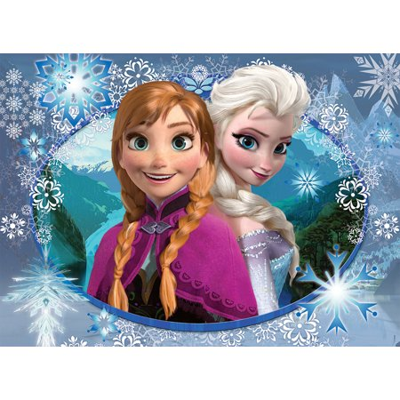 Frozen Elsa Anna Edible Frosting Image Icing Cake Topper 1/4 sheet (Cake Toppers Frozen)