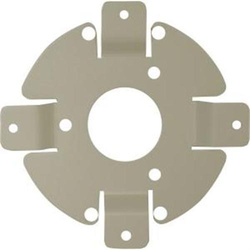 Camera Adaptor Plate,Corner/Pole,White SPECO TECHNOLOGIES APT32DW