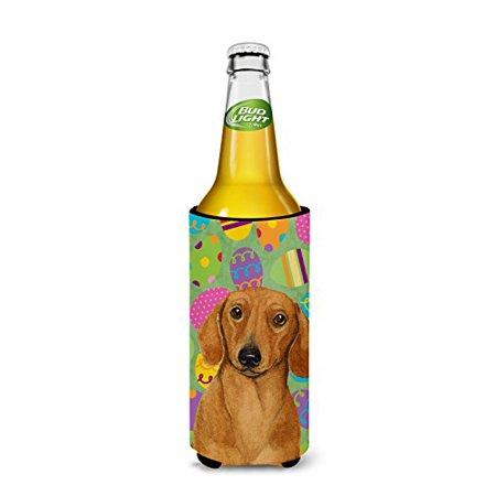 Carolines Treasures LH9402MUK Dachshund Easter Eggtravaganza Michelob Ultra s For Slim Cans - 12 oz. - image 1 de 2
