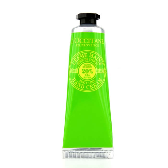 L'Occitane - Shea Butter Zesty Lime Hand Cream -30ml/1oz
