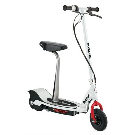 Razor E200S Electric Scooter - White/Red